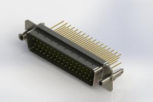 627-M50-623-GN6 - Vertical Machined D-Sub Connectors