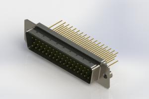 627-M50-623-GT2 - Vertical Machined D-Sub Connectors