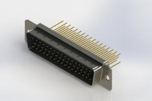 627-M50-623-LN1 - Vertical Machined D-Sub Connectors