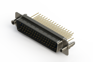 627-M50-623-LN6 - Vertical Machined D-Sub Connectors