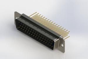 627-M50-623-LT1 - Vertical Machined D-Sub Connectors