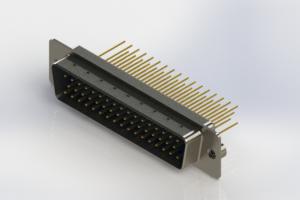 627-M50-623-LT2 - Vertical Machined D-Sub Connectors
