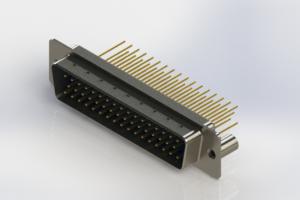 627-M50-623-LT3 - Vertical Machined D-Sub Connectors