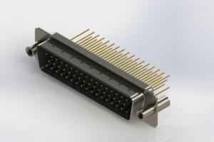 627-M50-623-LT4 - Vertical Machined D-Sub Connectors