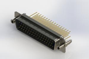627-M50-623-LT6 - Vertical Machined D-Sub Connectors