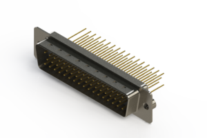 627-M50-623-WN2 - Vertical Machined D-Sub Connectors