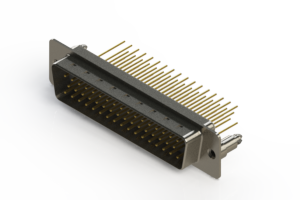 627-M50-623-WN5 - Vertical Machined D-Sub Connectors