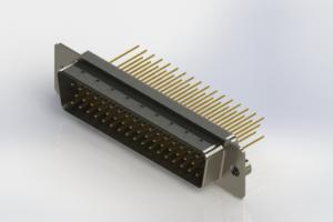 627-M50-623-WT2 - Vertical Machined D-Sub Connectors