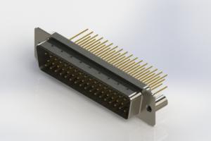 627-M50-623-WT3 - Vertical Machined D-Sub Connectors