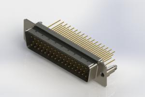 627-M50-623-WT5 - Vertical Machined D-Sub Connectors