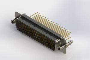 627-M50-623-WT6 - Vertical Machined D-Sub Connectors