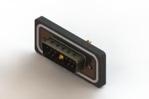 627W11W1222-1N2 - Vertical Waterproof Power Combo D-Sub Connector