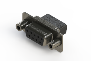 628-009-010-249 - Vertical Metal Body D-Sub Connector