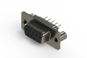628-009-220-249 - Vertical Metal Body D-Sub Connector