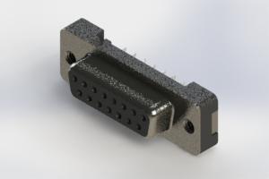 628-015-320-012 - Vertical Plastic Body D-Sub Connector