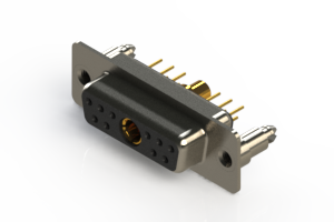 628-11W1224-4ND - Vertical Combo Dsub