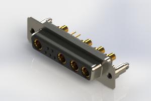 628-9W4-624-3ND - Vertical Combo Dsub