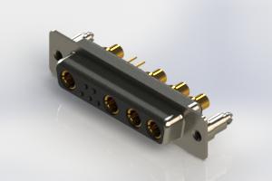 628-9W4-624-4ND - Vertical Combo Dsub