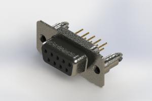 628-M09-221-BN5 - Vertical D-Sub Connector