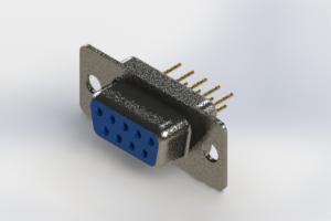 628-M09-221-LN1 - Vertical D-Sub Connector