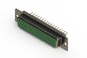 628-M50-621-GN1 - Vertical D-Sub Connector