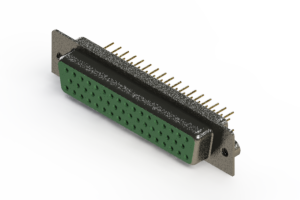 628-M50-621-GN2 - Vertical D-Sub Connector