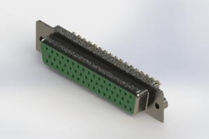 628-M50-622-GT2 - Vertical D-Sub Connector