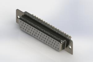 628-M50-622-WT1 - Vertical D-Sub Connector