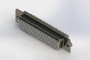 628-M50-622-WT2 - Vertical D-Sub Connector