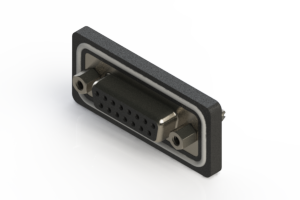 628-W15-320-013 - Vertical Waterproof D-Sub Connector