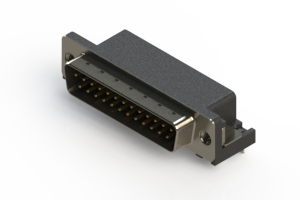 629-025-640-035 - Right Angle D-Sub Connector