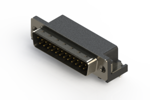629-025-640-045 - Right Angle D-Sub Connector
