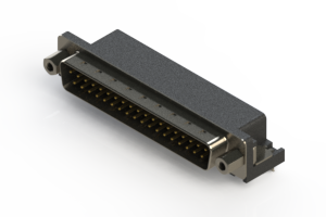 629-037-240-033 - Right Angle D-Sub Connector