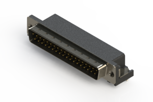 629-037-240-042 - Right Angle D-Sub Connector