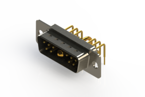 629-11W1240-1N1 - Right-angle Power Combo D-Sub Connector