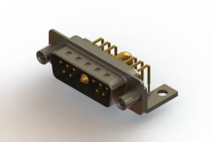 629-11W1240-2NE - Right-angle Power Combo D-Sub Connector