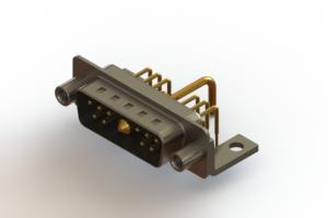 629-11W1250-1NE - Right-angle Power Combo D-Sub Connector