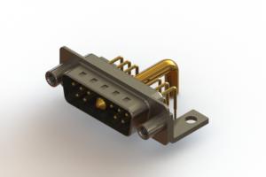 629-11W1250-4NE - Right-angle Power Combo D-Sub Connector