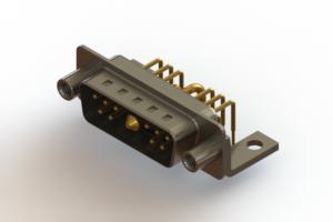 629-11W1640-1NE - Right-angle Power Combo D-Sub Connector