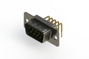 629-M09-340-GN1 - Right Angle D-Sub Connector