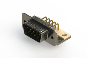629-M09-340-GT4 - Right Angle D-Sub Connector