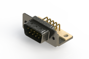 629-M09-640-GN4 - Right Angle D-Sub Connector