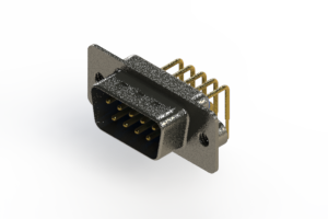 629-M09-640-LN2 - Right Angle D-Sub Connector