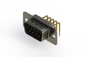 629-M09-640-LT1 - Right Angle D-Sub Connector