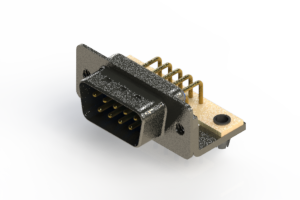 629-M09-640-LT3 - Right Angle D-Sub Connector