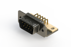 629-M09-640-LT4 - Right Angle D-Sub Connector