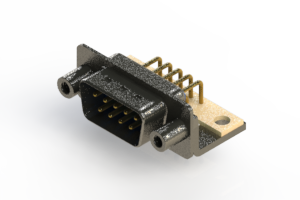 629-M09-640-LT6 - Right Angle D-Sub Connector