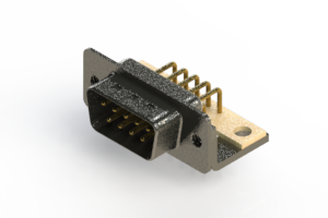 629-M09-640-WT4 - Right Angle D-Sub Connector