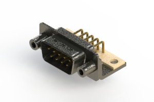 629-M09-640-WT6 - Right Angle D-Sub Connector