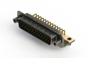 629-M25-240-GN5 - Right Angle D-Sub Connector